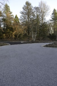 Gravel Driveway in Moriches, New York.