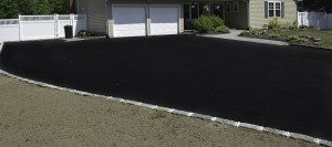blacktop driveway new installation Nesconset, Suffolk New York.