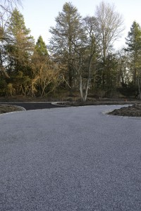gravel and stone driveway installation Islip Terrace, Suffolk New York.