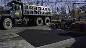 Parking Lot Asphalt Repair Brentwood, Suffolk, New York.