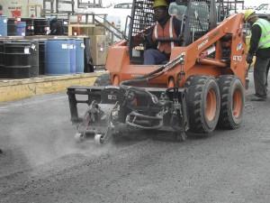 Parking Lot Asphalt Repair Central Islip, Suffolk, New York.